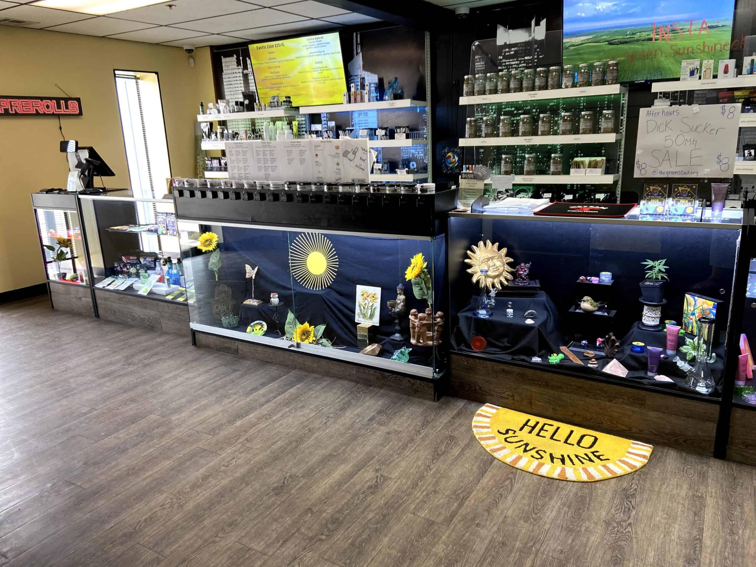 Green Sunshine sales desk